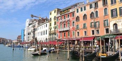 Venise depuis le canal
